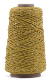Katoenkoord / okergeel goud / streng 10m