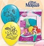 Ariel, de kleine zeemeermin / feest ballonnen