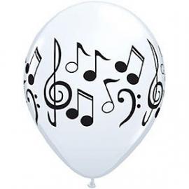 Ballon / Muzieknoten