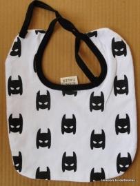 Slabbetje - baby / zwart/wit Batman