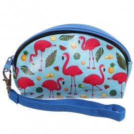 Etui - klein tasje / Flamingo