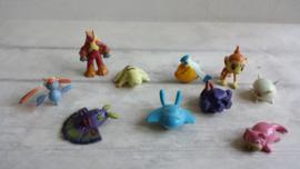 Pokemon / mini figuurtjes - poppetjes  / 10 stk / nr 7