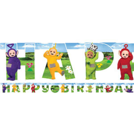 PS Teletubbies Wenslijn Happy Birthday