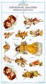 ME 8066 Poezie plaatjes stickers Engel 2