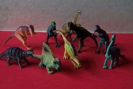 Dinosaurus figuurtjes  / pstk