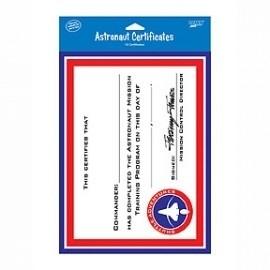 PP Space Odyssey astronaut certificaat