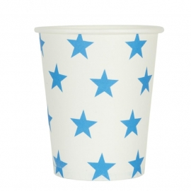 Bekers /  blauwe sterren