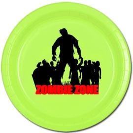 Feestbordjes /  Zombie Zone / Halloween