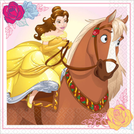 Belle en het Beest / feest servetten