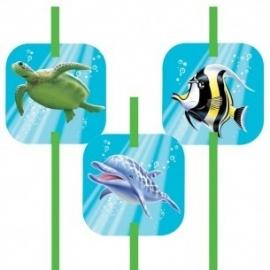 Rietjes Oceaan / Onderwater | 6 stk