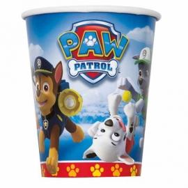 Paw Patrol / feest bekers / blauw