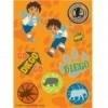 Stickers / Go Diego feest