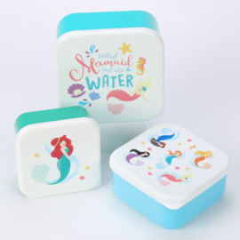 Lunchboxen set /  Enchanted Seas Mermaid