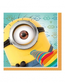 Minions Despicable kinderfeest Servetten