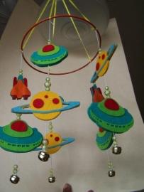 Mobiel /  vliegende schotels
