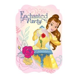 Belle en het Beest / feest uitnodigingen