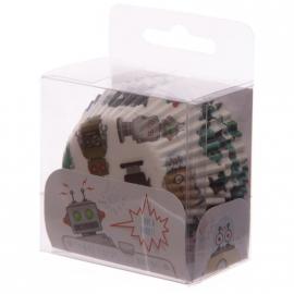 Cupcake vormpjes Robots