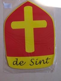 Sinterklaas  / mijter  / papier