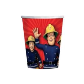 Brandweerman Sam / feest bekers