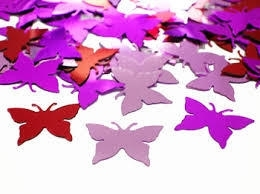 Confetti / Butterfly / vlinder