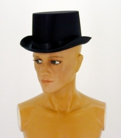 Hoge hoed  / zwart