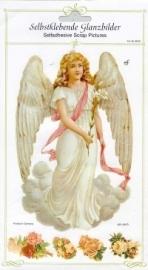 ME 8030 Poezie plaatjes sticker Grote Engel