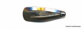 Klik-klak haarknipje | zilverkleurig 3 cm