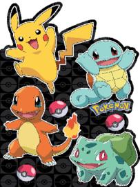 Pokemon / blanco dubbele kaart Large