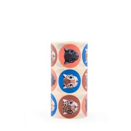Stickers - sluitzegels | Studio Ditte | Jaquar | 15 stk