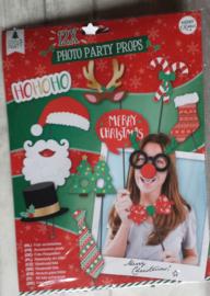 Kerst party Foto probs Kerstmis