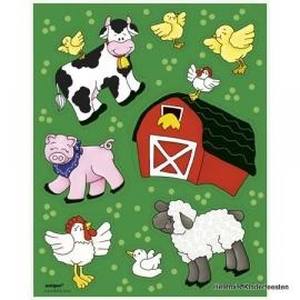 Stickers /  Boerderij farm