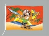 Piraten kid / feest gevelvlag