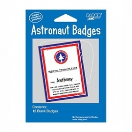 Space Odussey   kinderfeest astronauten badge