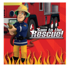 Brandweerman Sam / feest servetten / lunch