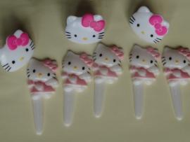 DD Hello Kitty cake versiering setje