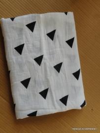 Mousseline baby dekentje Triangle