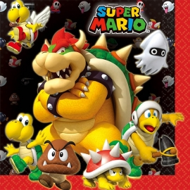 Servetten / Super Mario / kinderfeestje