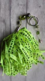 TI Tas / sleutel hanger BONFIM lime