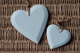 TI Hart hout lichtblauw