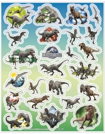 Stickers / Jurassic World - disnosaurus