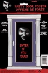 Deurposter / Vampier / Halloween