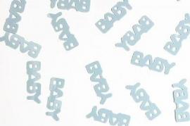 Baby strooisel -  confetti blauw