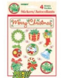 Sticker / vel Kerst