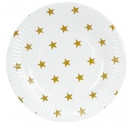 Feest bord / met gouden sterren