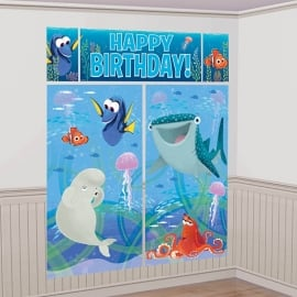Finding Dory kinderfeest muurdecoratie