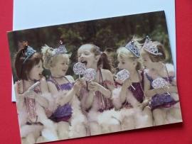 Kaart / Prinsesjes met lollies