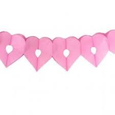 Slinger hart roze / 6m