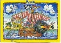 Puzzel / Piratenschip