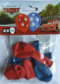 Cars pixar / kinderfeest / ballonnen / 6stk