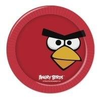 Kinderfeest bordjes  Angry Birds